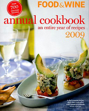 Food & Wine Annual Cookbook, 2009