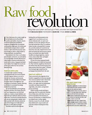 BBC Good Food: Raw Food Revolution, Feb 2011
